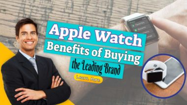 "Featured image text: ""Apple Watch Benefits of Buying""."